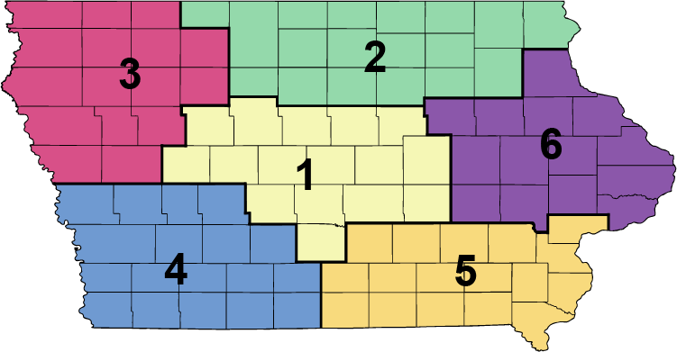County Region Map